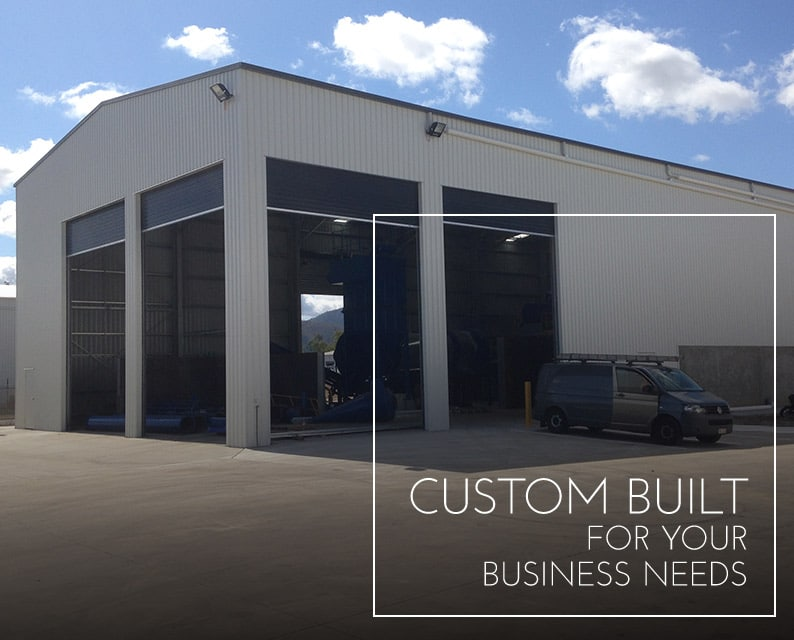 Custom Built for your business needs
